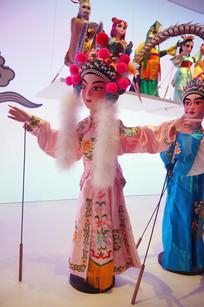 湖南长沙地区木偶戏《金鳞记》之金小姐