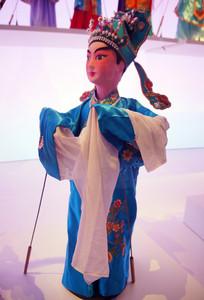 湖南长沙地区木偶戏《金鳞记》之张文景