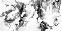 现代水墨画 中国风 中式风格 流彩 抽象
