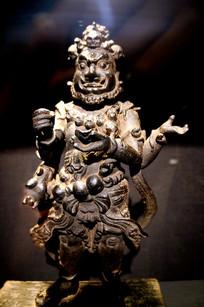 11-12世纪四臂大黑天像