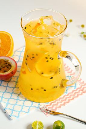 百香蜜柚饮品