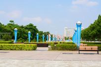 城市广场风景