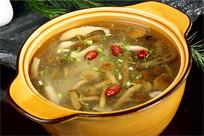 山珍野菌汤