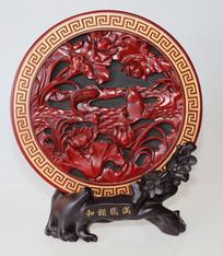 枣木雕刻看盘