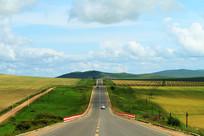 田野公路风景