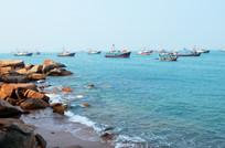 海岛岸边风景