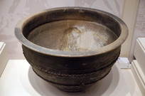 汉代黑陶甑