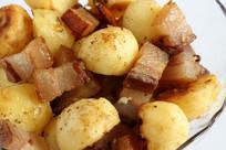农家菜土豆腊肉