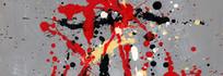 抽象油画底纹背景