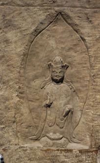 南齐石雕佛像