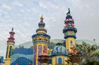 珠海海洋王国5D城堡电影院