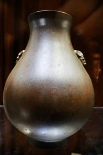 19世纪铜羊首汉壶尊