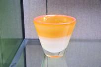 三色玻璃水杯