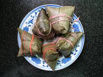 中国传统美食粽子