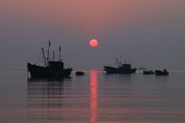 海上升红日