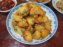 农家菜干煸土豆