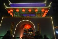 2017广州西湖花市灯展夜景