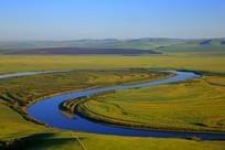 额尔古纳河秋季风光
