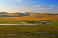 宁静的莫日格勒河