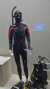 潜水服和设备