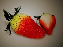 新鲜草莓水果