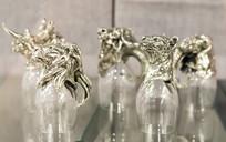 银兽兽玻璃杯