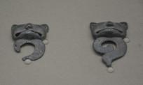 内蒙古出土文物虎形青铜饰牌