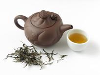普洱茶生茶和茶具