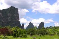 广西桂林自然风景