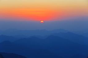 黄山日出景观