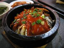 鱿鱼石锅伴饭