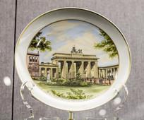 柏林风景图瓷盘