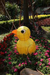 黄色小鸡元宵花灯