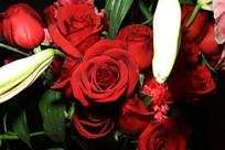 漂亮的鲜花高清特写