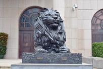 威严的石狮子