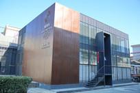 钢板墙体的艺术中心建筑