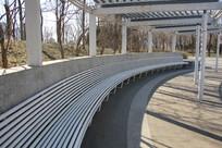 钢结构的园林凉棚