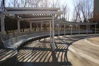 钢结构园林凉棚