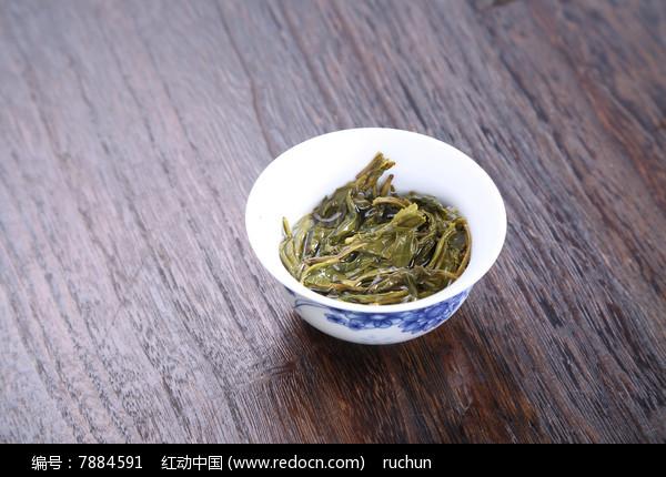 绿茶叶底是什么样的图片
