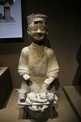 东汉陶庖厨俑