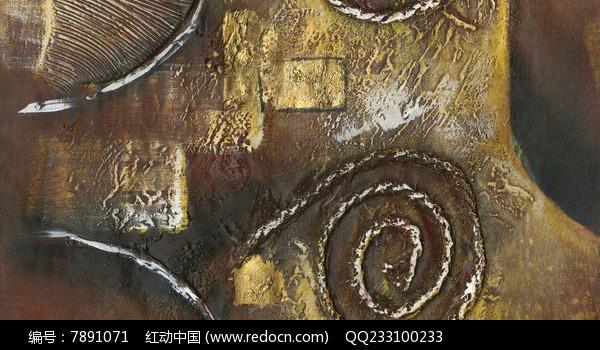 现代抽象油画图片