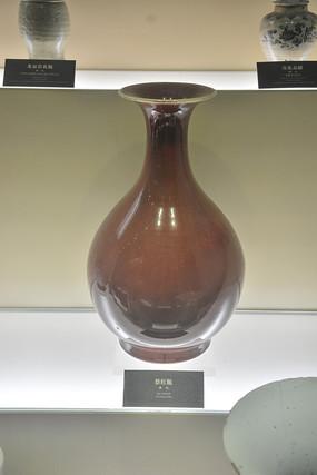 文物祭红瓶