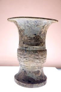 西周时期兽面纹铜尊