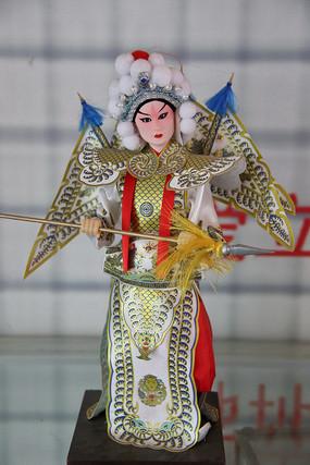 京剧人物娟人