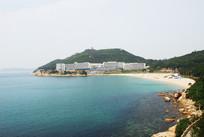美丽的海岛沙滩风光