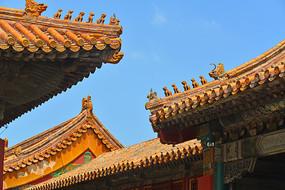 故宫博物馆建筑飞檐