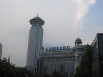 高楼大厦建筑风景图片