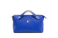 手提包烫花蓝色