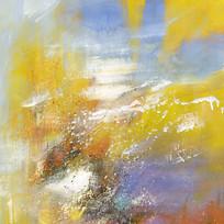 现代简约极简风格抽象油画