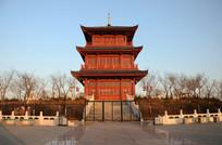 中华建筑风阁楼